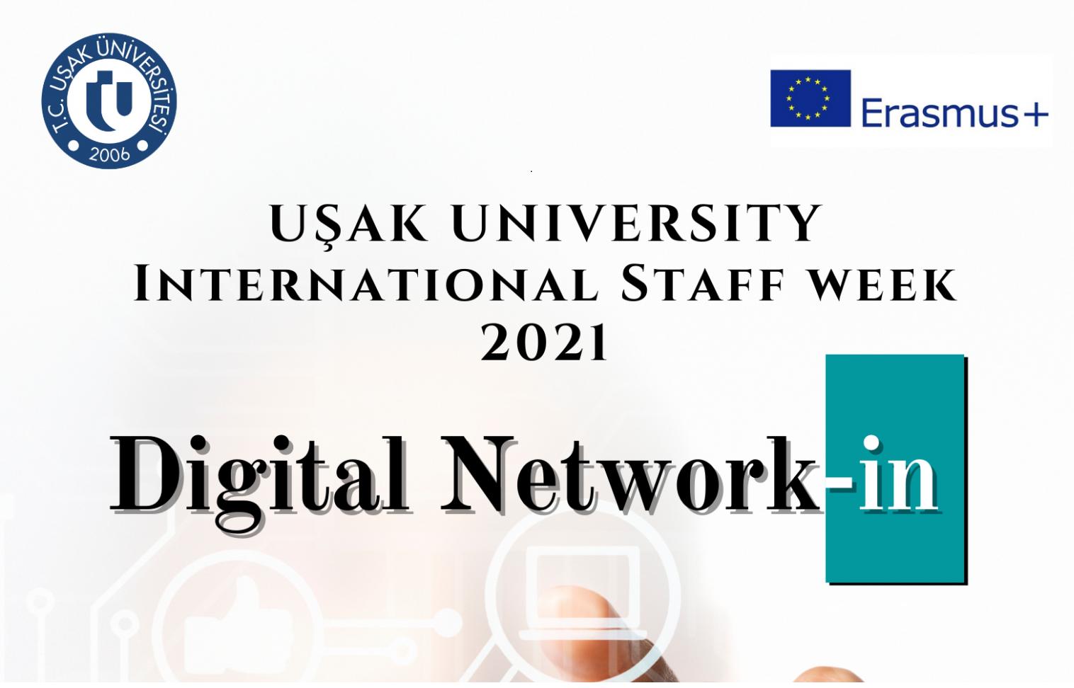 II-й Міжнародний тиждень персоналу онлайн: «Цифрова мережа» в рамках Програми Еразмус+